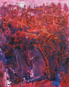 012 Metamorphosis oil on canvas 100 x 80 cm